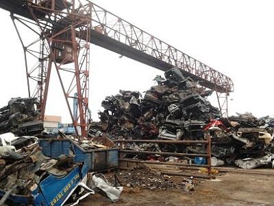 transporto priemonių priėmimas ir sunaikinimas